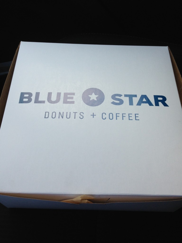 Blue star box
