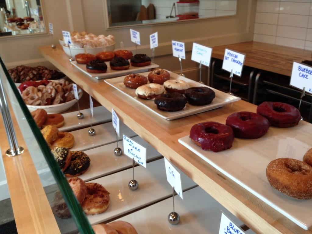Bluestar donut offerings