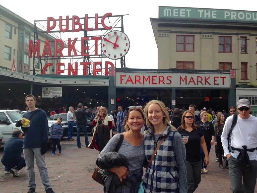 Public Market Seattle, blogging lessons