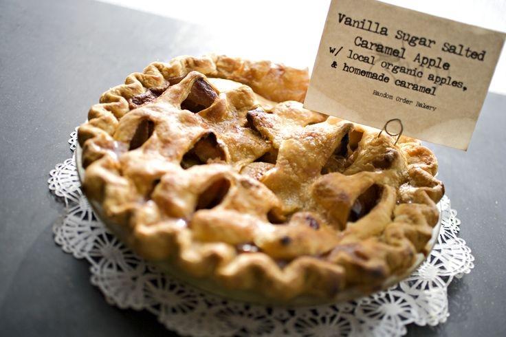 Random Order Pie to Go
