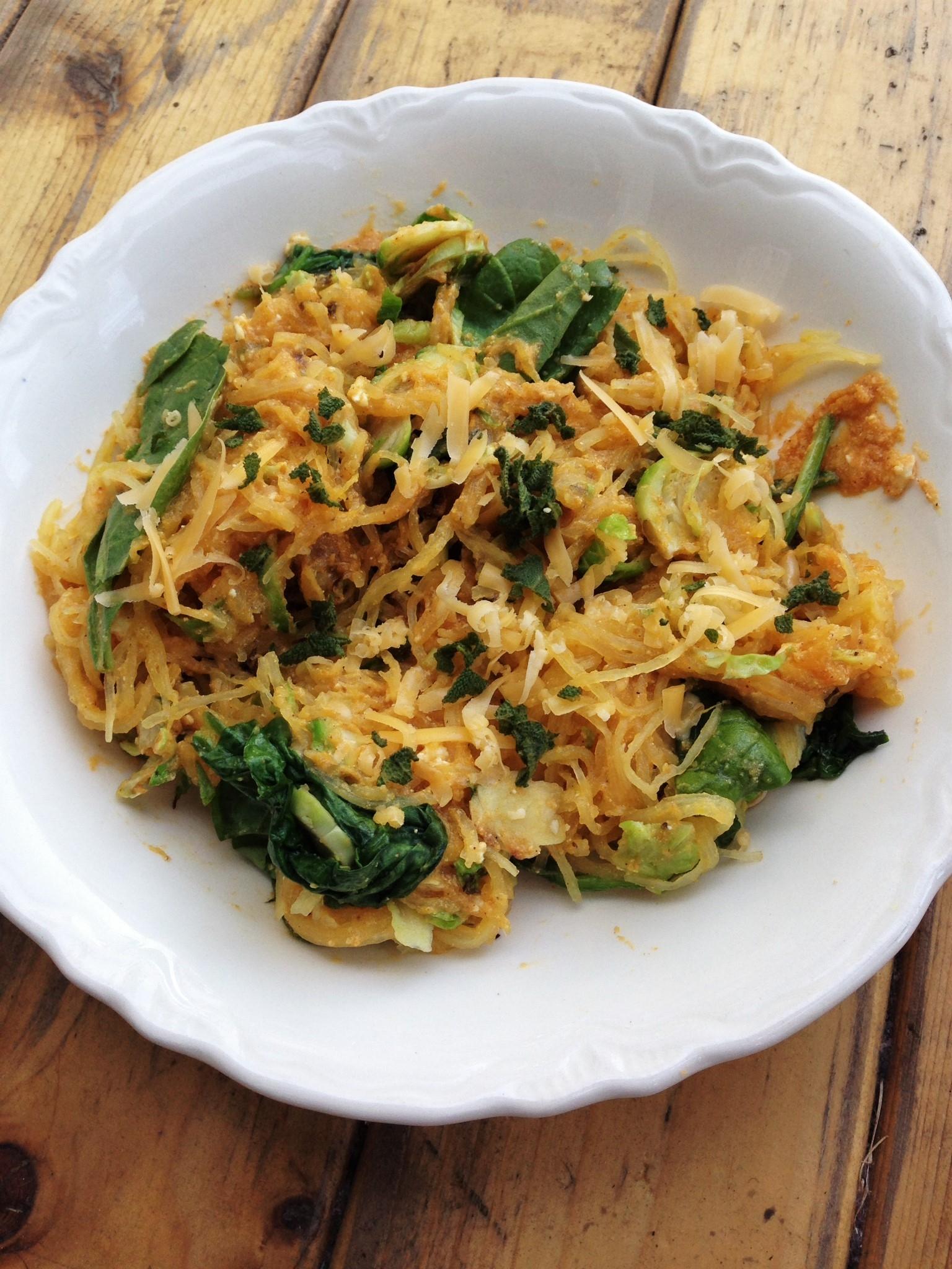 pumpkin spaghetti squash