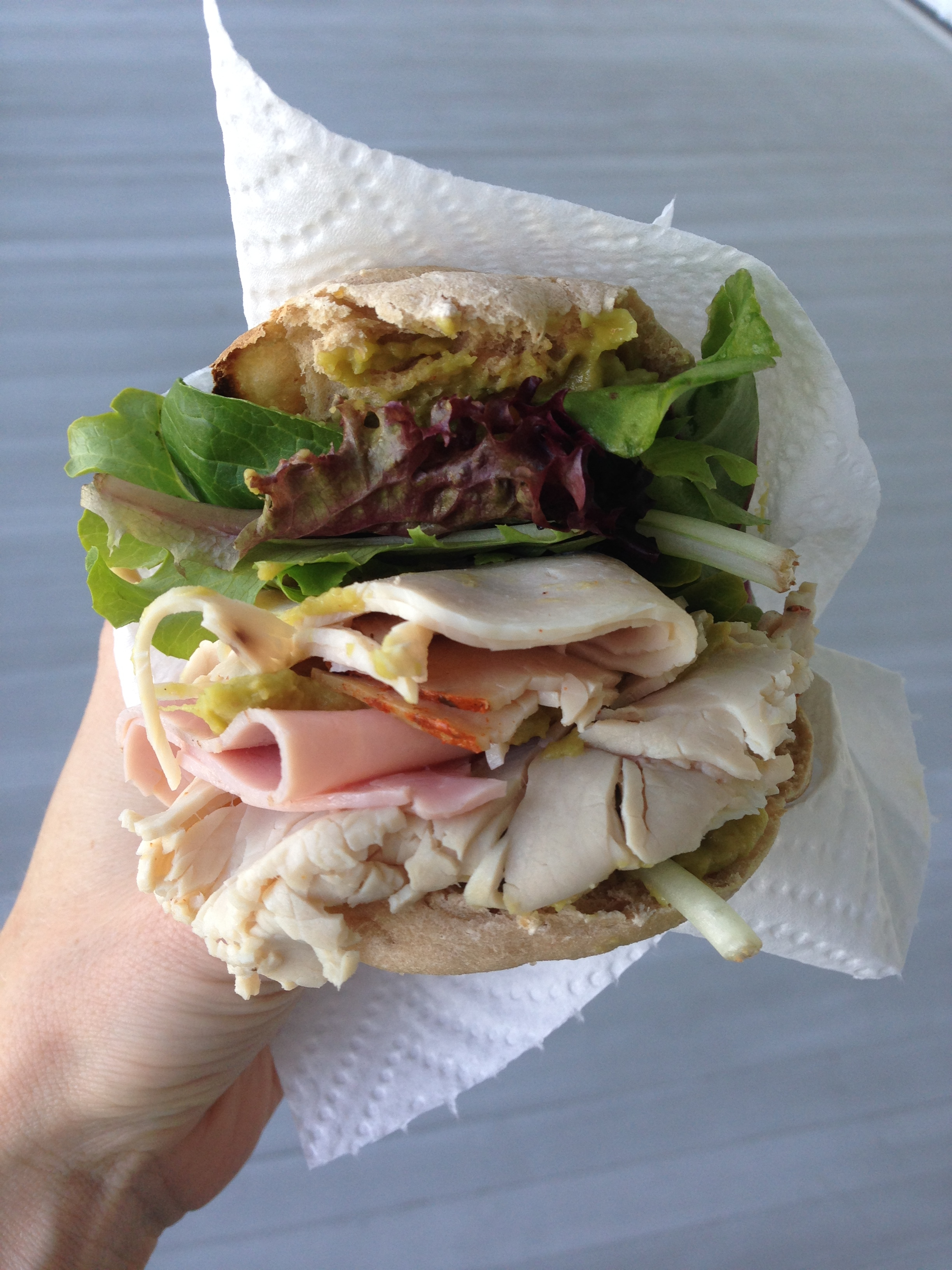 sandwich, thanksgiving modifications