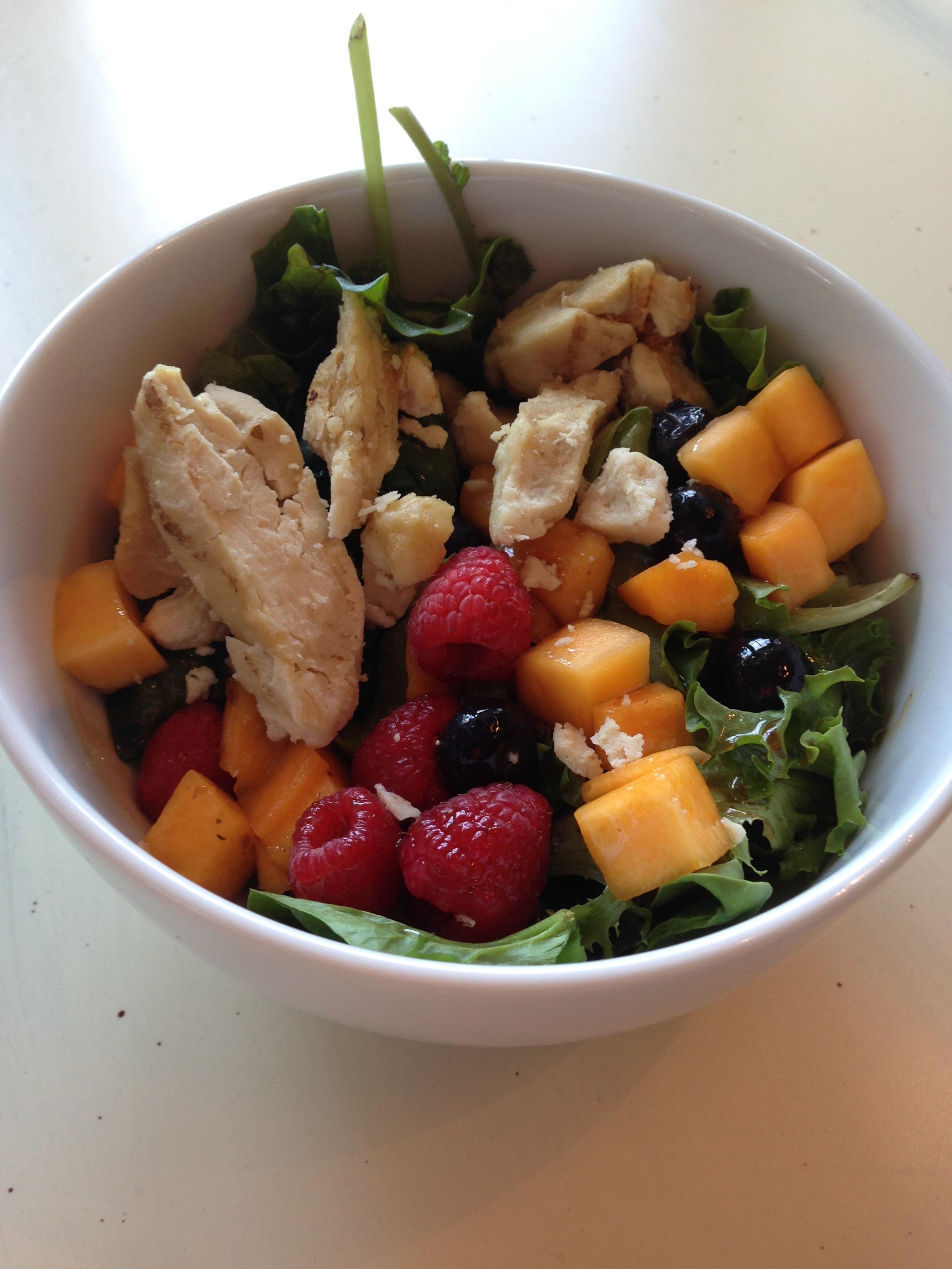 salad, thanksgiving modifications
