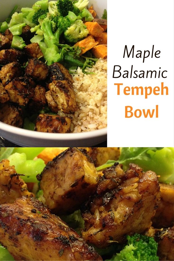 tempeh, vegan, power bowl, buddha bowl