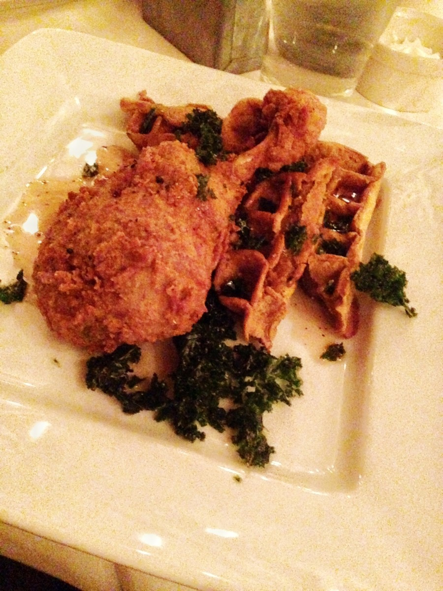 duck and waffles