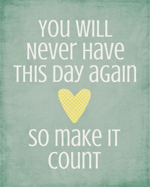 make day count