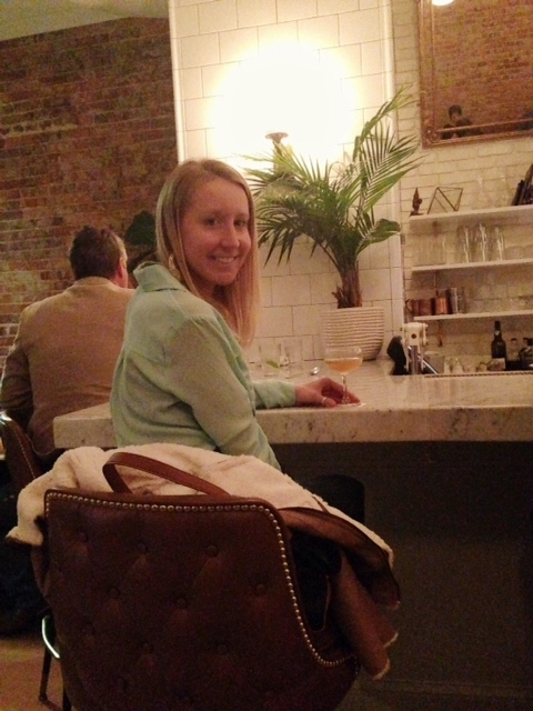 sarah at bar