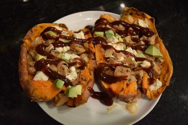 stuffed sweet potato, why you should eat more fat
