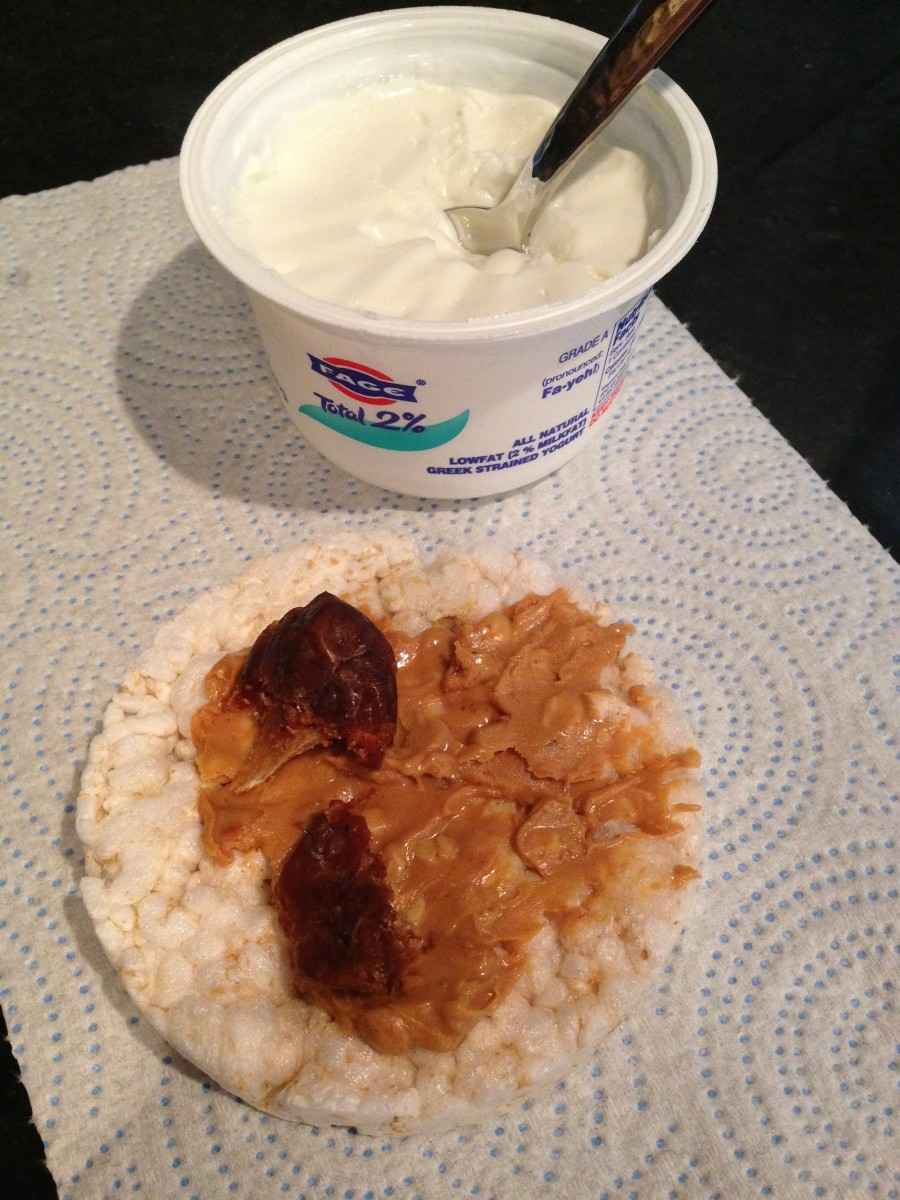 yogurt with PB