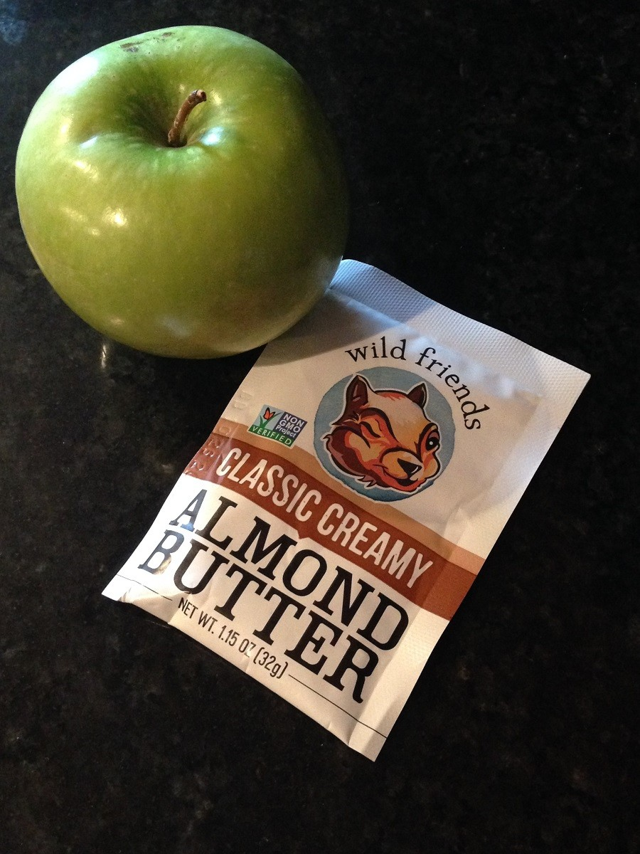 portable almond butter_All you snackers, how to snack smart and choose good snacks.