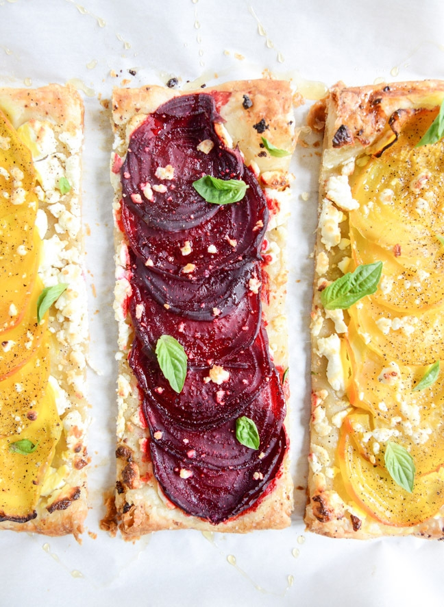 Why Runners Should Eat More Beets, Beet Honey Tart