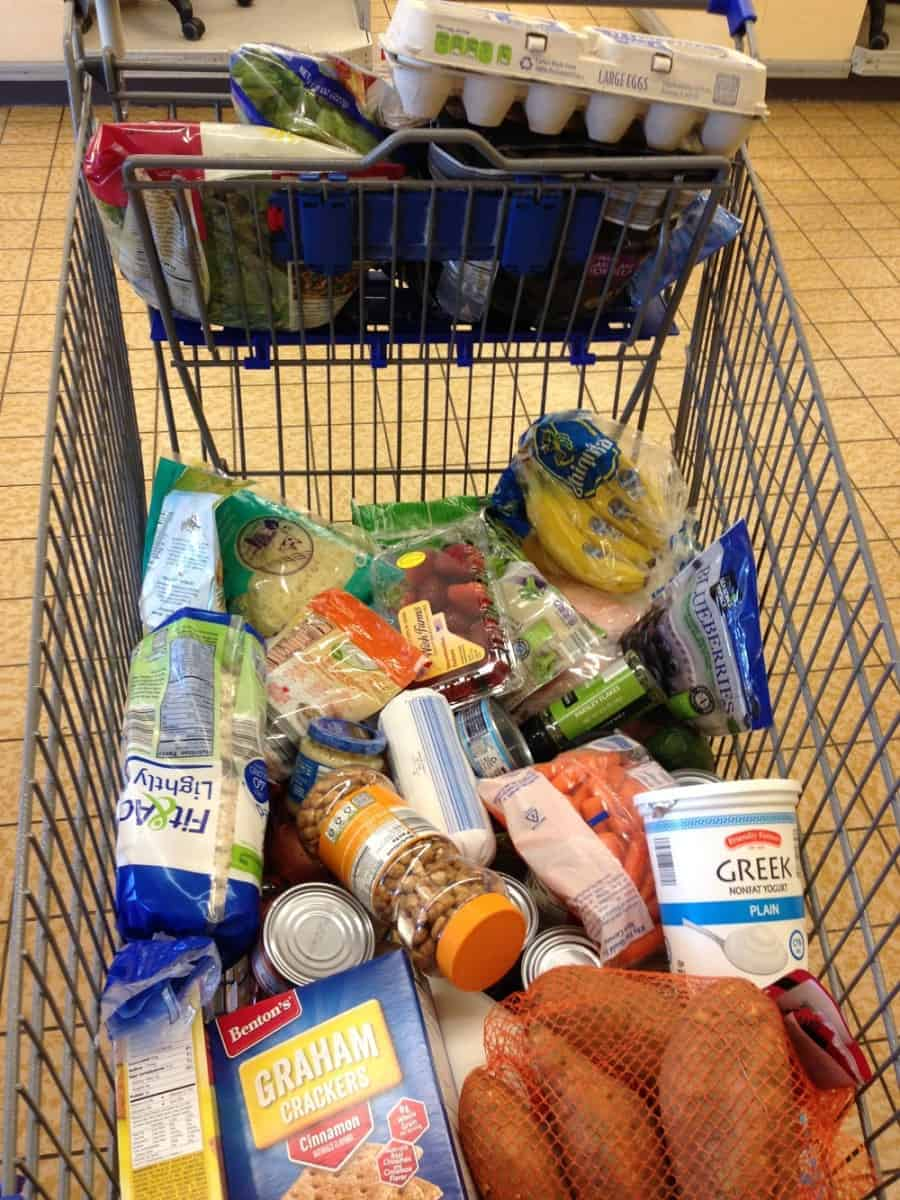 A Peek Into A Dietitian S Grocery Cart Aldi Giveaway