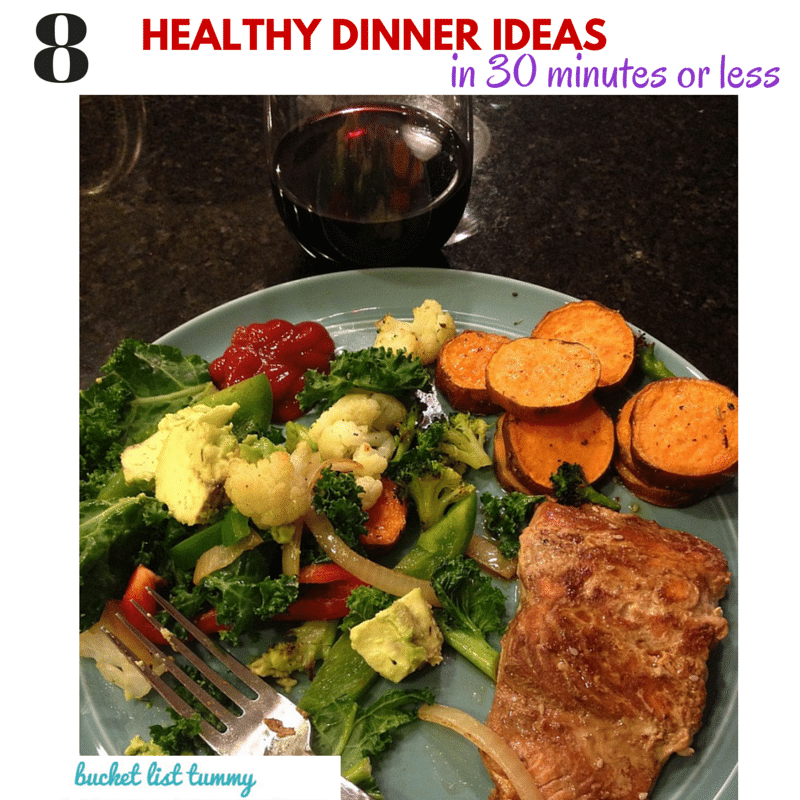 8 Healthy Dinners In 30 Minutes Or Less