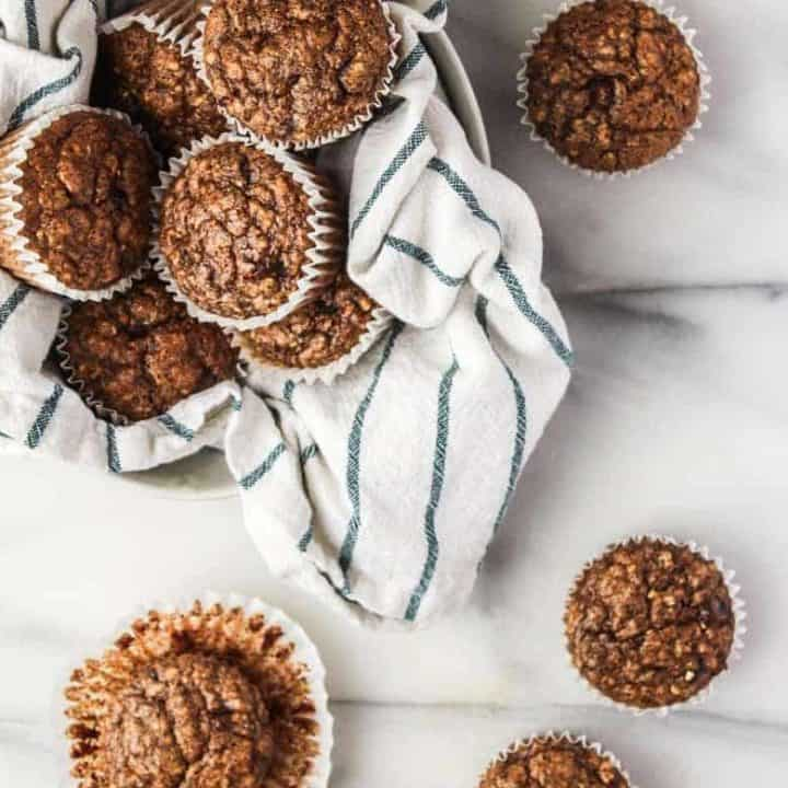 Almond Flour Banana Muffins (Gluten Free)