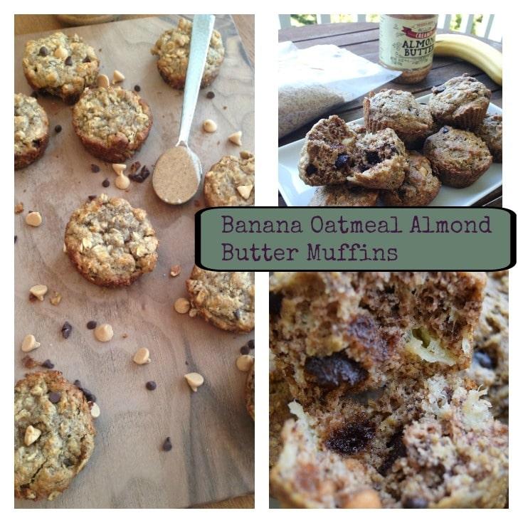 gluten free, oatmeal muffins, healthy muffins, flourless muffins, Banana Muffins