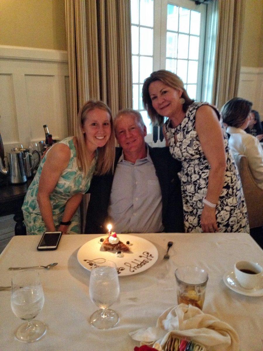 dad birthday dinner