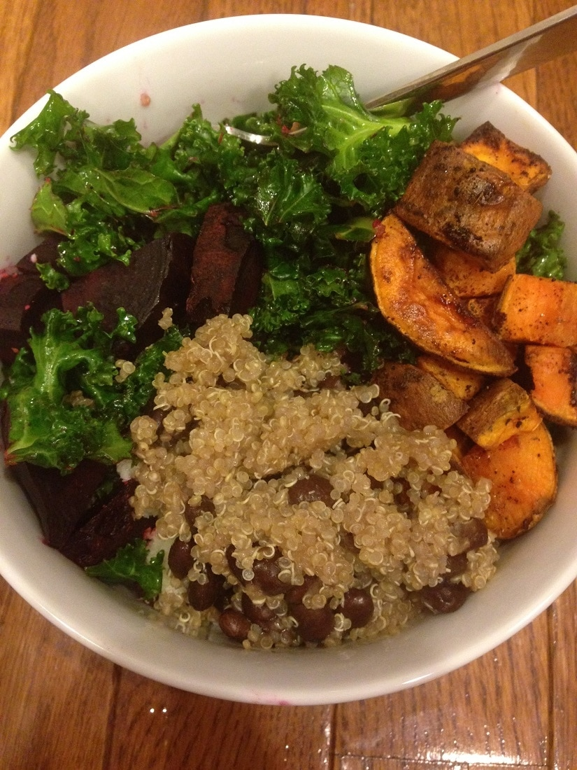black bean bowl_7 Healthy Dinners in 30 minutes or less