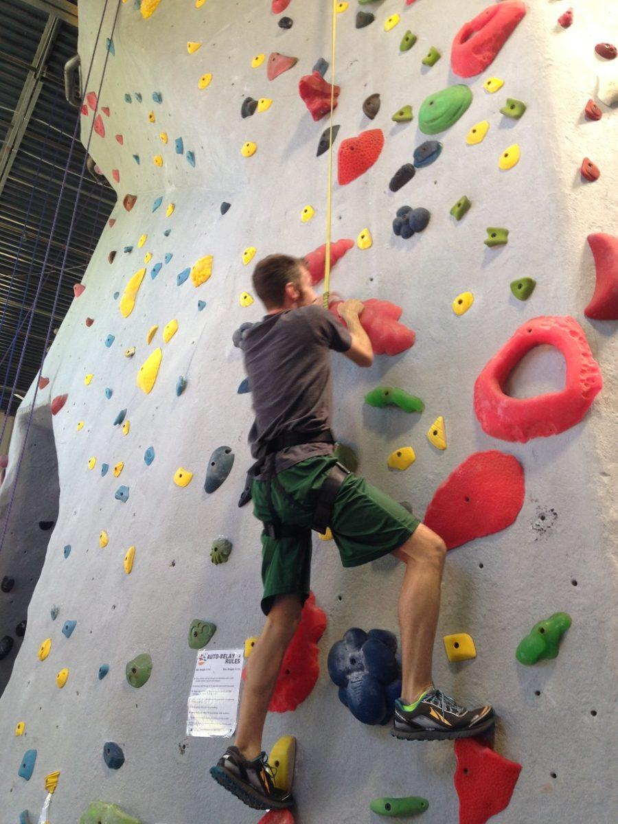 ed rock climbing
