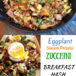 eggplant sweet potato zucchini breakfast hash