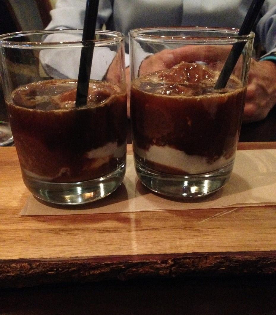 iced coffee dessert, Charlotte