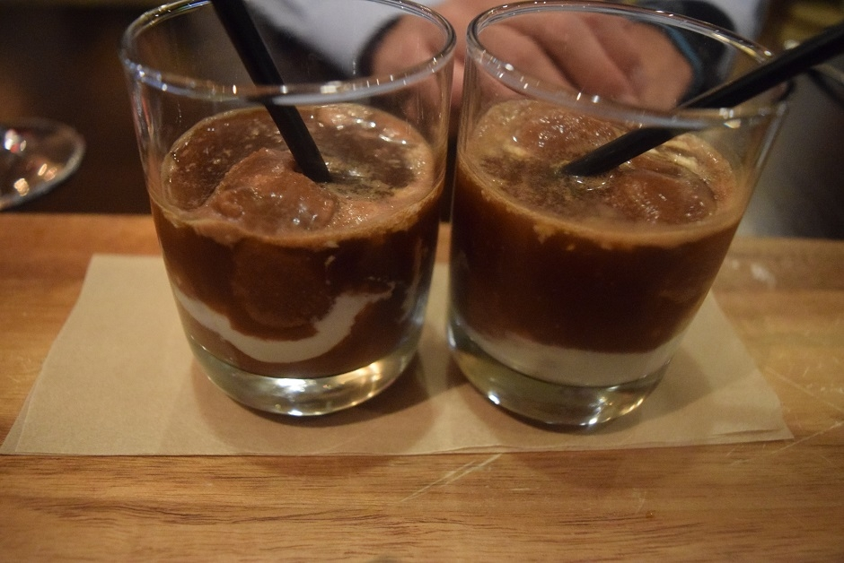 iced coffee dessert, Asbury