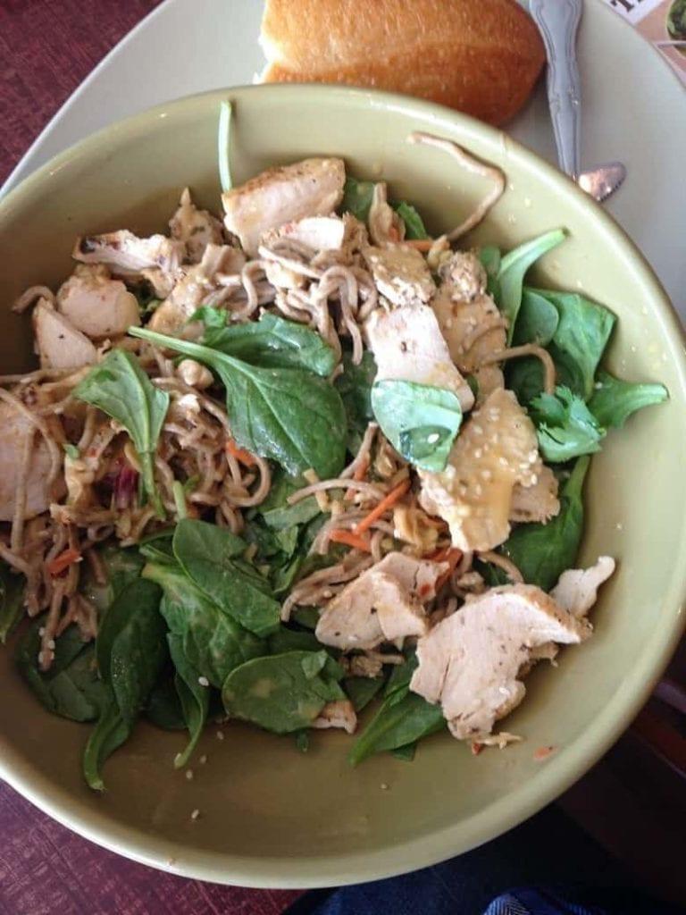Panera soba noodles bowl