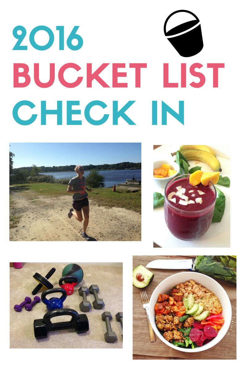 2016 BLT bucket list