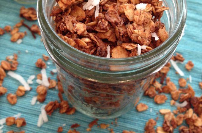 Coconut Maple Cinnamon Granola