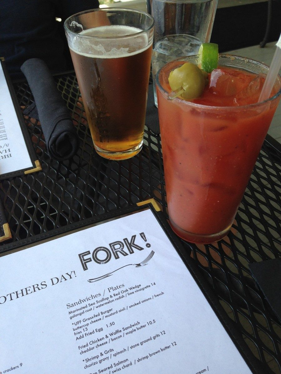 bloody mary, fork