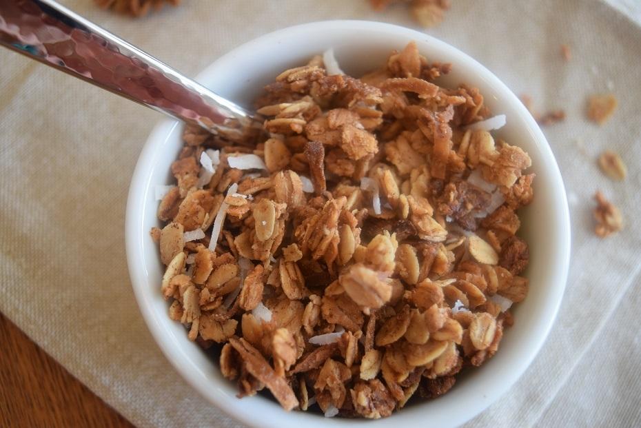 coconut, granola