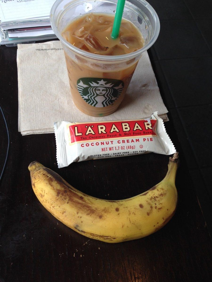 coffee snacks, WIAW
