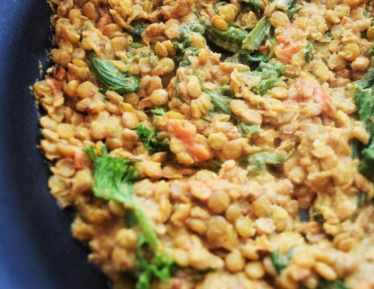 Lemon Tahini Lentil Dip, Lentil Dishes, Vegetarian Dinners