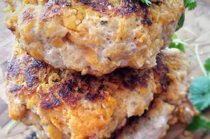 Easy Sweet Potato Turkey Burgers (Gluten Free)