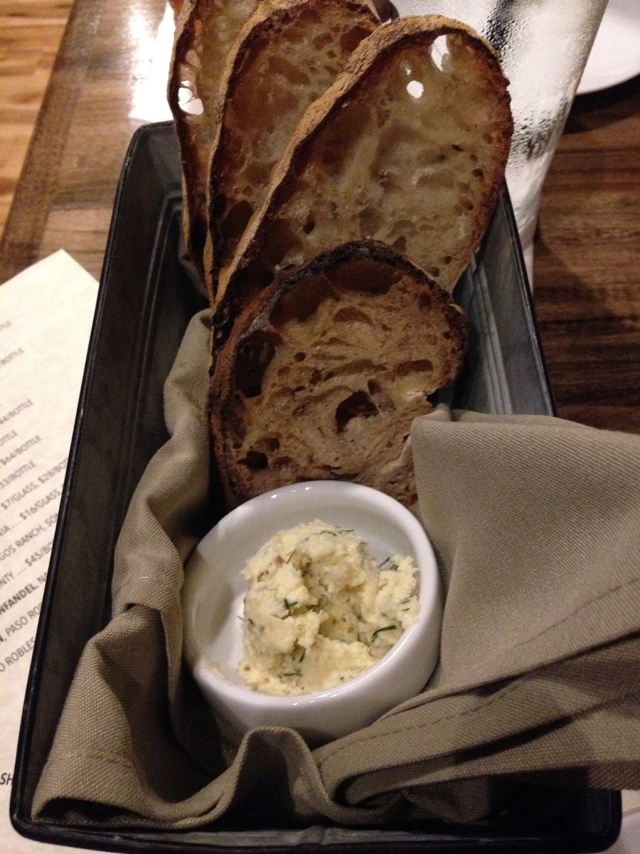 bread with fennel butter