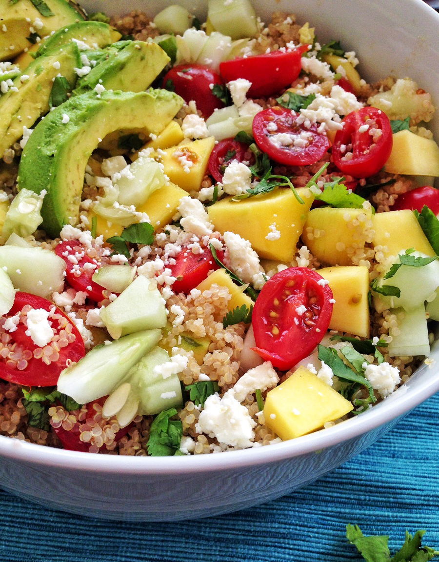 gluten free, quinoa salad