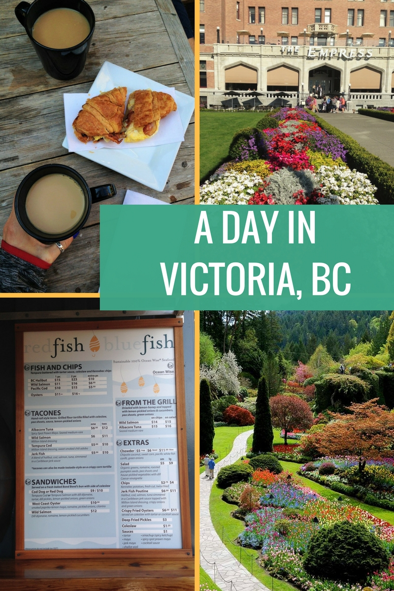 A DAY IN VICTORIA, BC