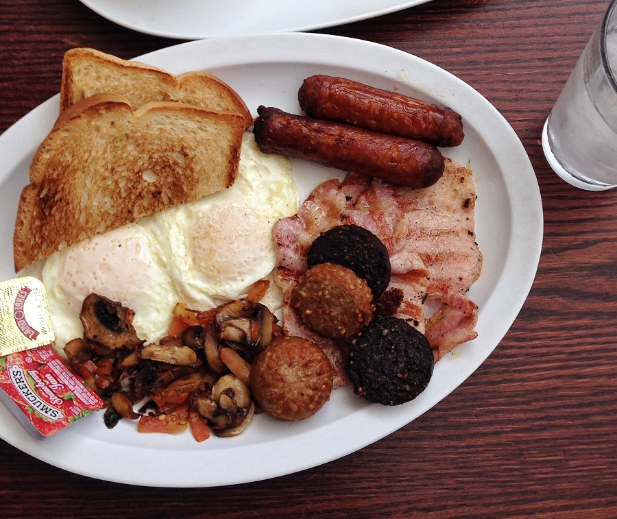 Irish breakfast special