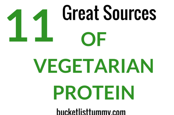 11 Great Sources of Vegetarian Protein