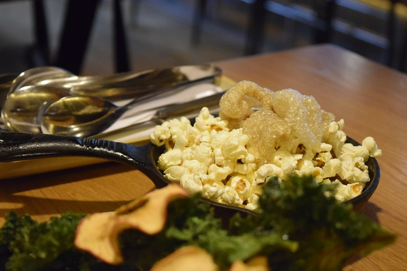skillet popcorn