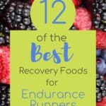 Recovery Foods for Exercise with text overlay | Bucket List Tummy