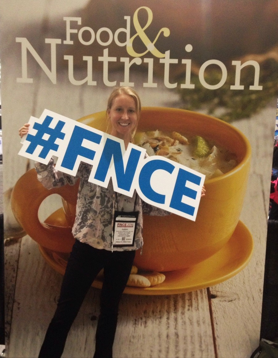 FNCE recap, Boston recap, RD 2 be, Registered Dietitian
