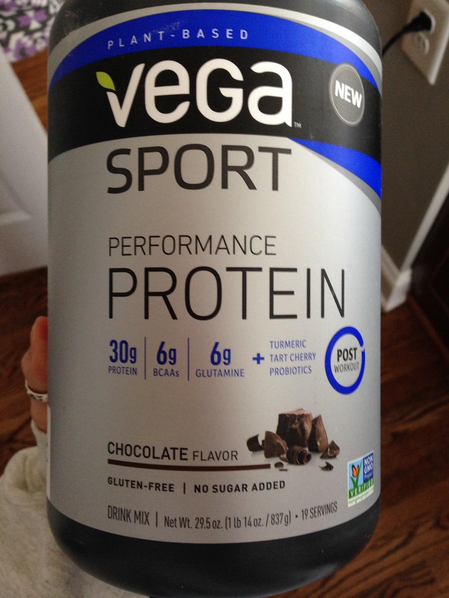 Vega Sport Performance Protein as a recovery food