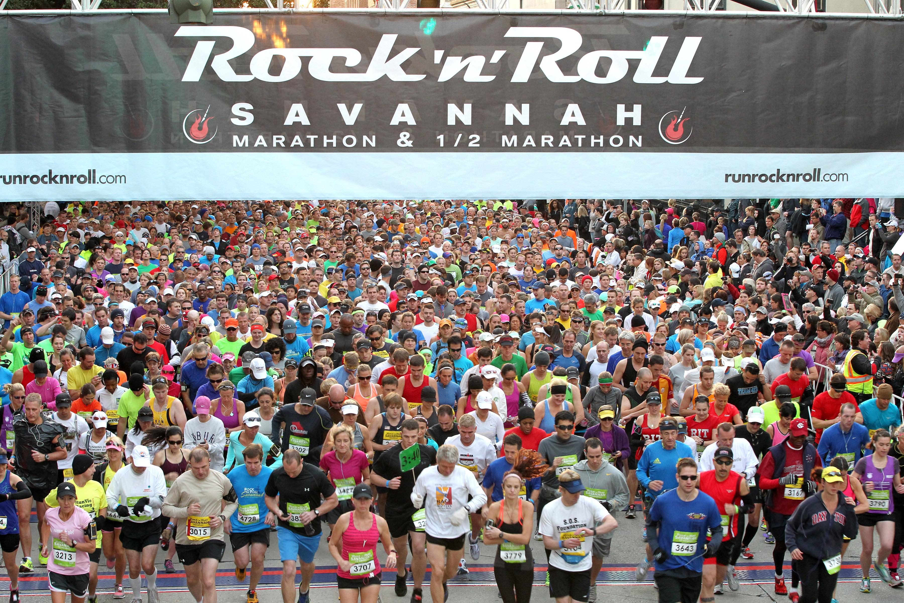 2013 Savannah Rock n Roll Marathon