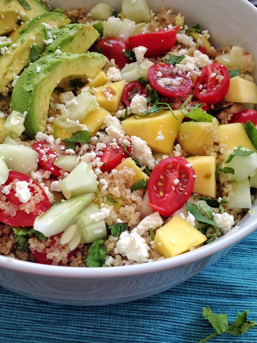 clean eating, salad