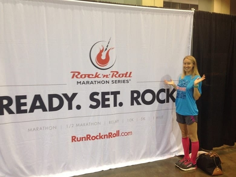 A race recap of the Rock and Roll Marathon Savannah, what to expect on the course and how my first marathon went