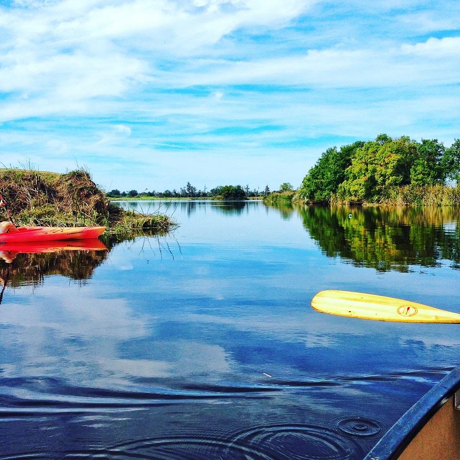 Kayaking in Ford Plantation