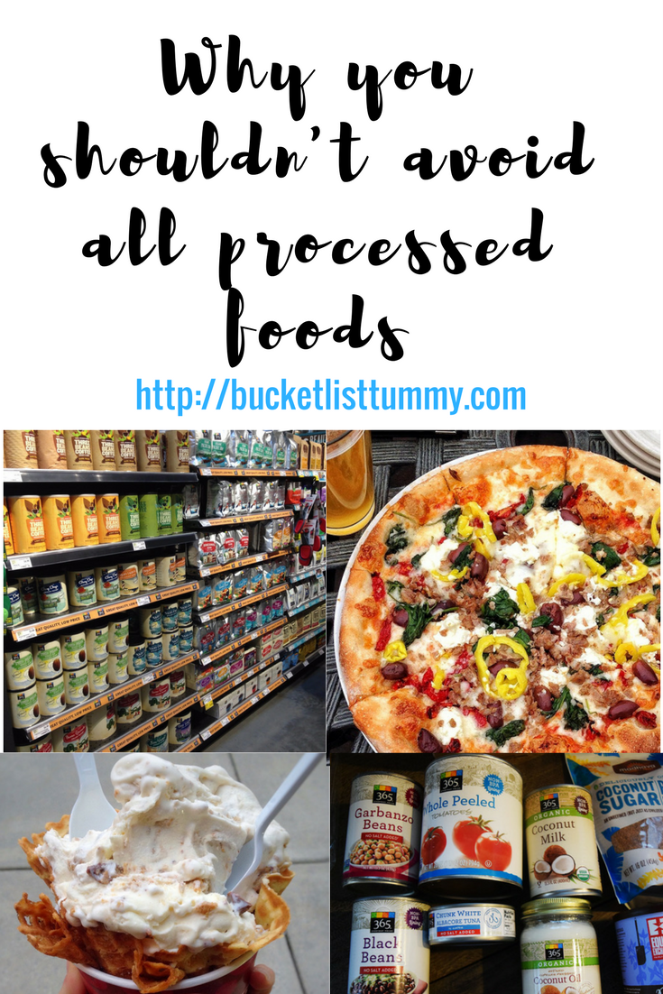 Why you shouldn't avoid all processed foods