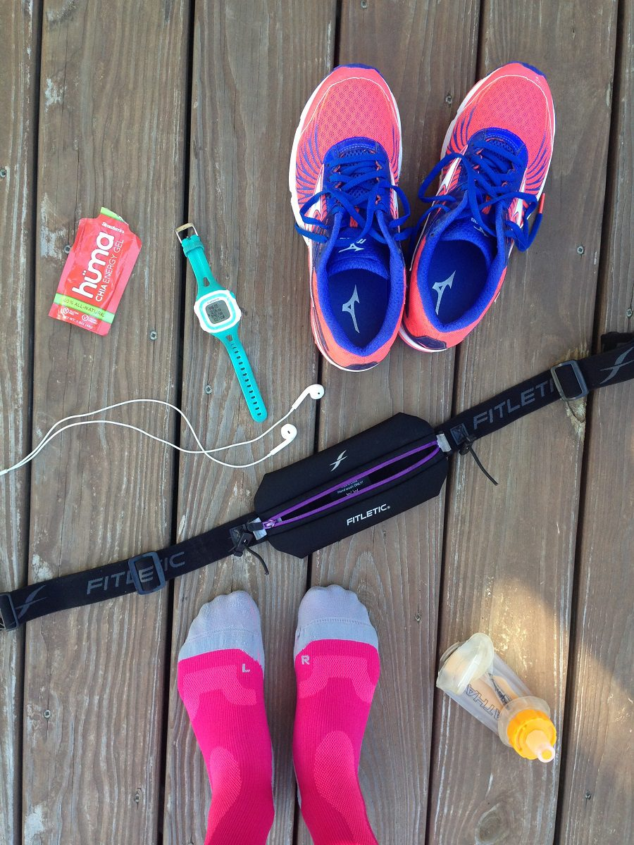 Supplies for long run on deck board