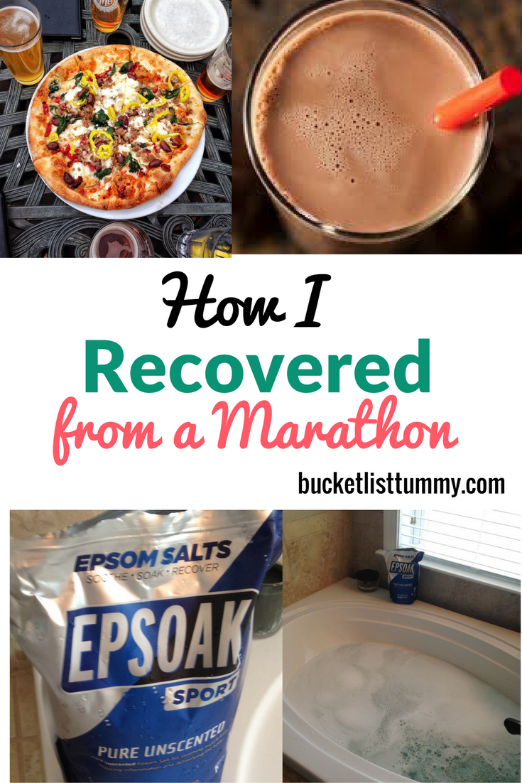 How to Recover from a race