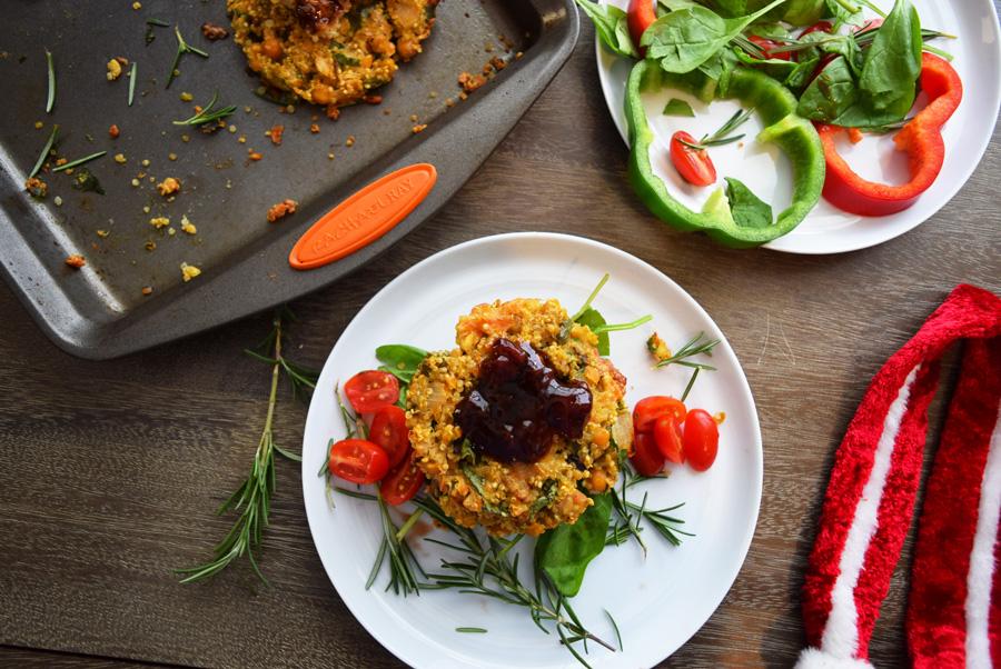 Holiday Foods, Veggie Burger, Strawberry Balsamic Veggie Burger, #shop